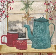 Christmas Cards 2017 - Canns Down Press Charity Christmas Cards, Christmas Cards 2017, Rachel Grant, Gouache Painting, Contemporary Art, Stationery, Greeting Cards, Artists, Paper Mill