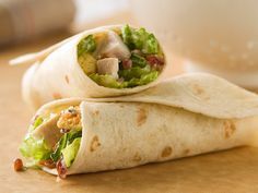 Get your chicken Caesar salad on—in a wrap! These creamy, crunchy bundles serve four in as little as 10 minutes.