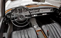 1969 Mercedes-Benz 280 SL. For more information, visit: http://mbenz.us/M13sTP