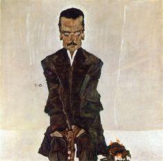 Egon Schiele >> Eduard Kosmack1910
