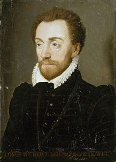 Louis de Bourbon (7 May 1530 – 13 March 1569) was a prominent Huguenot leader and general, the founder of the House of Condé, a cadet branch of the House of Bourbon.Born in Vendôme, he was the fifth son of Charles de Bourbon, Duke of Vendôme, and the younger brother of Antoine de Bourbon who married Jeanne d'Albret, Queen of Navarre; their son, Condé's nephew, became Henry IV of France.