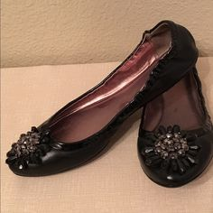 Coach flats Worn twice and been at the back of my closet for awhile now. They're ready to step back into action! Super cute and comfy. Can be dressed up with a LBD or dressed down with jeans and a Tee! EUC. Coach Shoes Flats & Loafers