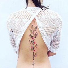 Nature Tattoos By Pis Saro