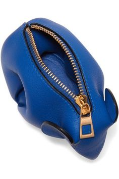 Loewe - Elephant Leather Coin Purse - Royal blue - one size