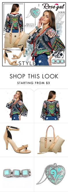 """""""Rosegal"""" by lip-balm ❤ liked on Polyvore featuring H&M, vintage and rosegal"""