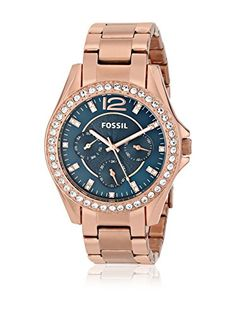 The Best Fossil Riley Women's Watches In 2014 Fossil Watches, Rolex Watches, Gold Models, Quartz Watch, Fashion Watches, Gold Watch, Rose Gold, Stainless Steel, Display