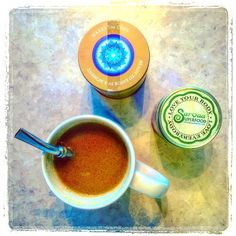 Our Sarvaa Superfood Golden Bliss is ALWAYS a good idea.  Tried mixing it with some @bluelotuschai today and made a spicy turmeric chai latte with coconut milk and a tsp of coconut oil. Anti-inflammatory soothing AND delicious. Yes!  Love Your Body! Love Everybody! http://ift.tt/1YSZDE8    #sarvaasuperfood #loveyourbodyloveeverybody #superfood #superfoods #love #latte #turmeric #goldenbliss #goldenmilk #antiinflammatory #healing #tea #wellness #peace #health #teatime #turmericlatte #chai…