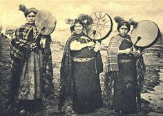 women playing drums  Mapuche machis traditional healers in the Mapuche culture of Chile and Argentina  The machis play a Important role in the Mapuche religion but Women are more commonly machis then Men