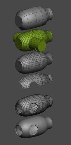 FAQ: How u model dem shapes? Hands-on mini-tuts for mechanical sub-d AKA ADD MORE GEO - Page 131 - Polycount Forum