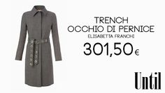 Trench occhio di pernice #cclaromanina #glamour #sales #woman #roma