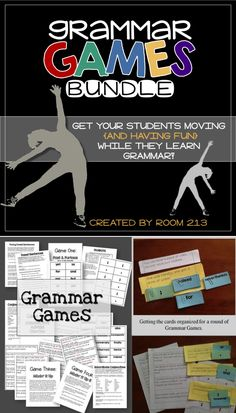 Grammar, fun and movement! Teach your students about commonly confused words, fused sentences and pronoun agreement in a fun, engaging AND effective way.