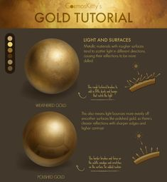 painting gold