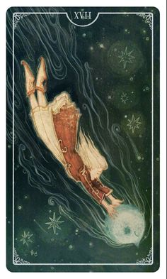 Star, Ostara Tarot - If you love Tarot, visit me at www.WhiteRabbitTarot.com