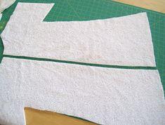The Project Corner: Towel Kimono Cover Up