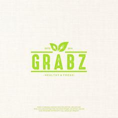 bb37e36533e5 Mix your own healthy food concept needs logo Greens
