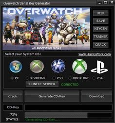 Overwatch Serial Key Generator download online, Full version of Overwatch Serial Key Generator no survey. Get Overwatch Serial Key Generator updated Overwatch Serial Key Generator. Working Overwatch Serial Key Generator