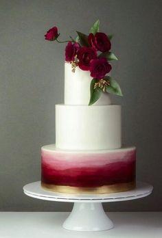 Elegant Wedding Cakes, Cool Wedding Cakes, Beautiful Wedding Cakes, Wedding Cake Designs, Wedding Cake Toppers, Beautiful Cakes, Wedding Rings, Winter Wedding Cakes, Elegant Cakes
