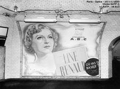 Métro de Paris 1950 - Line Renaud