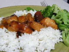 Crockpot Orange Chicken  It was ok, I added onion and pepper in the last hour of cooking.  Tasted a lot like  sweet and sour