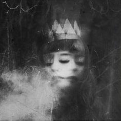☾ Midnight Dreams ☽ dreamy dramatic black and white photography - Rimel Neffati Photos Folles, Double Exposure, Macabre, Dark Art, Black And White Photography, Fine Art Photography, Monochrome, Artwork, Inspiration