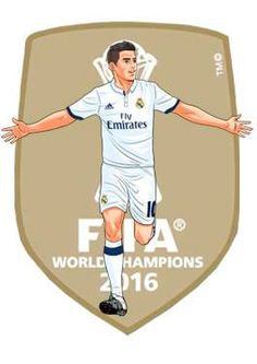 James Ronaldo Real Madrid, Real Madrid Team, Real Madrid Football Club, James Rodriguez, Fotos Real Madrid, Football Art, Sports Art, Lionel Messi, Football Players