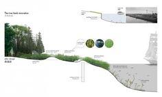 logon Qingpu wetland_river bank renovation