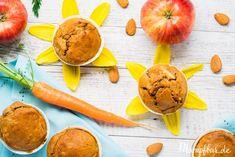 Gesunde Carrot Cake Muffins, ein Restaurant-Tipp & unser neuer happy place   mampfbar Fingerfood Baby, Diy Snacks, Super, Mango, Low Carb, Peach, Fruit, Breakfast, Restaurant
