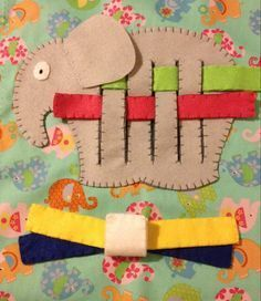 6 page quiet book by Sistersnstitchers on Etsy