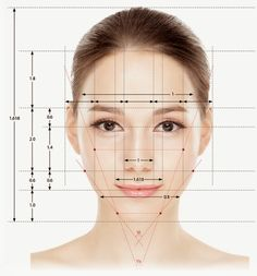 golden ratio face - Google 검색