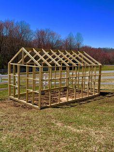 How to Build a Greenhouse final framing Diy Greenhouse Plans, Greenhouse Farming, Outdoor Greenhouse, Backyard Greenhouse, Small Backyard Landscaping, Home Vegetable Garden, Garden Landscape Design, Types Of Houses, Dream Garden