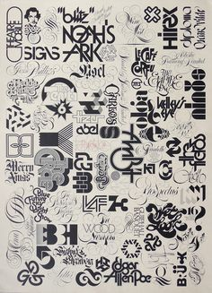 nice collection work Tony Forst - graphicdesign | ello