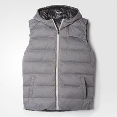 adidas - Reversible Hooded Down Vest