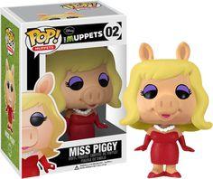 Muppets - Miss Piggy POP! Vinyl Figure