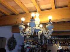 CasaTintoria  Shabby Chich Shabby, Chandelier, Ceiling Lights, Lighting, Home Decor, Candelabra, Decoration Home, Room Decor, Chandeliers