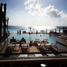 Another pic of Secrets the Vine, new resort in Cancun. A high rise condo style adults only resort. Huge, spacious rooms. Definitely would recommend!