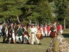 WHOEVER CONTROLS THE RIVER, CONTROLS THE FUTURE: October 6, 1777. Three thousand soldiers under command of British General Sir Henry Clinton undertake a dari...