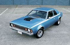 1971 AMC Hornet SC/360 I've wanted one of these little monsters for a long time.