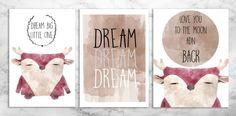 Dream big poster, by Barbara Krochmal