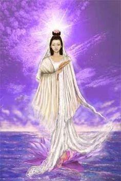 The Violet Flame & Kuan Yin the Goddess of Mercy Sacred Feminine, Divine Feminine, Reiki Angelico, The Violet, Ascended Masters, Divine Mother, Goddess Of Love, New Earth, Guanyin