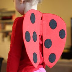 Handmade Dress Up: DIY Very Quick Ladybug Wings Tutorial
