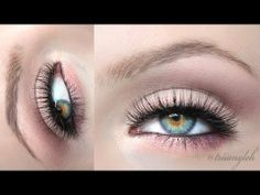 Rose Spring/ Valentine Look (Naked 3 - Urban Decay) Naked 3 Tutorial, Cut Crease Tutorial, Eye Base, Naked Palette, War Paint, Eye Make Up, How To Feel Beautiful, Lipsticks, Makeup Art