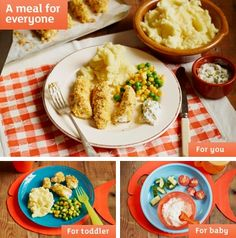 Crunchy fish fingers from Sainsburys website. These were surprisingly easy to make using Tesco boneless cod fillets. The polenta made them nice and crunchy. Great to feed my toddler who doesn't like meat but loves fish fingers and enjoyed these!