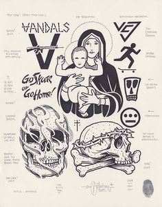 Vandals by Mike Giant, 2014.