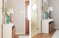 Entryway Makeover |