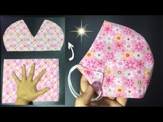 Nouvelle forme de masque, pas besoin de règle, pas de brouillard sur les lunettes, facile à respirer - YouTube Easy Face Masks, Diy Face Mask, Sewing Hacks, Sewing Tutorials, Fabric Crafts, Sewing Crafts, Knitted Mittens Pattern, Sewing Projects For Beginners, Diy Mask