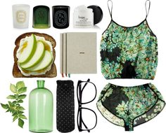 """""""Green."""" by mhurtiz ❤ liked on Polyvore"""