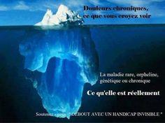 Maladie chronique, face cachée de l'iceberg...