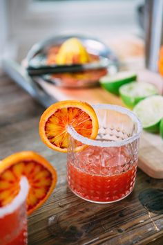 PIERRE ATELIER / http://www.pierreatelier.com / INTERNATIONAL WE Margarita à l'orange sanguine