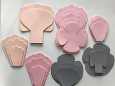 Favorite petal designs for filling Paper Flower Wall