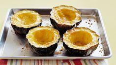 Baked Acorn Squash w/Sugar - Easy